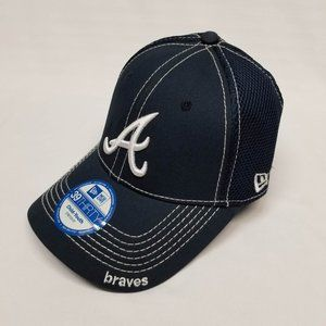 ATLANTA BRAVES STRETCH FITTED CAP CHILD-YOUTH